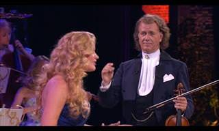 André Rieu Lets An Amazing Singer Wow Us All..