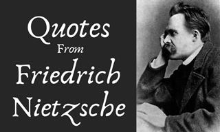 You'll Find Comfort in These Words of Friedrich Nietzsche