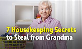 7 Housekeeping Secrets to Steal from Grandma