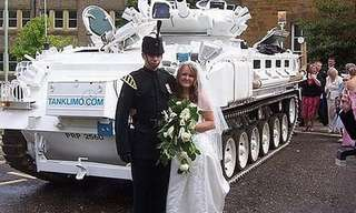 The Cars You Don't Usually See at Weddings...
