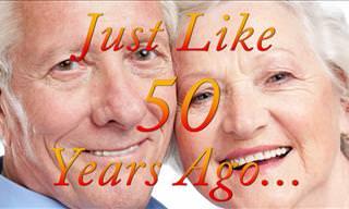 Joke: Just Like 50 Years Ago...