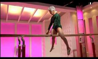 Age Is No Limit - An 86 Year Old Acrobat!
