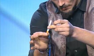 Magic Trick with a Cigarette