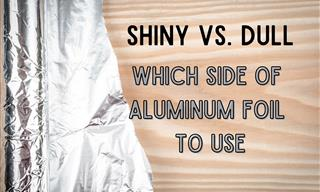 Once and For All, Is there a Right Side to Aluminum Foil?