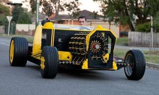 The World's One and Only Lego Car - Amazing!