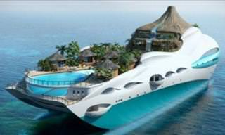 10 Luxury Yachts With the Most Extraordinary Concepts