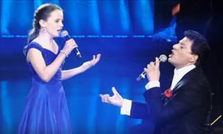 Amira Willighagen Sings 'O Sole Mio'