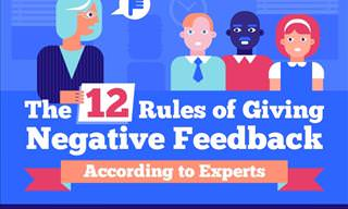 12 Simple Rules for Giving Negative Criticism