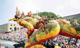This is the Most Creative Flower Parade In the World!