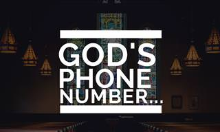 Poem: God's Phone Number