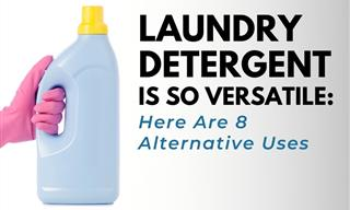 Laundry Detergent Is SO Versatile: 8 Genius Home Uses