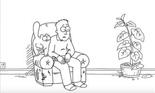 Simon's Cat: Armchair Fan