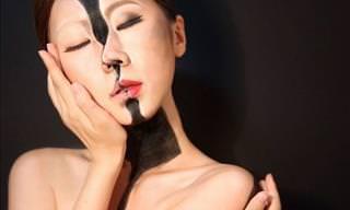 Dain Yoon's Incredible Optical Illusion Makeup
