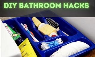 These DIY Bathroom Tips & Tricks Will Be Quite Useful
