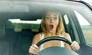 Joke: Blonde vs. Car
