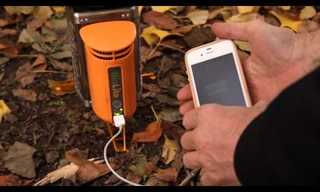 Amazing Invention - From Wood to Electricity!
