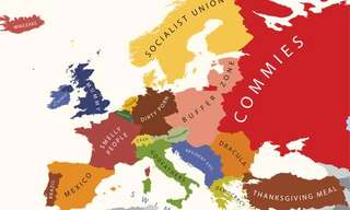 Hilarious – Europe According To Each Nation
