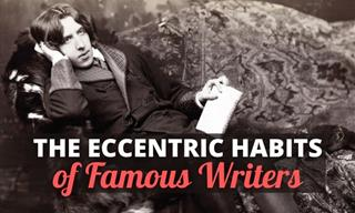 The Eccentric Writing Rituals of 10 Famous Writers