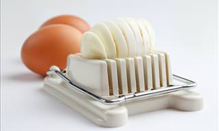 Cool Uses For an Egg Slicer