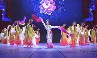A Fantastic Chinese Dance