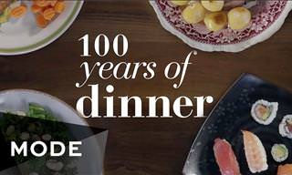 A Century of Dinners: It's Not Only Fashion that Changes