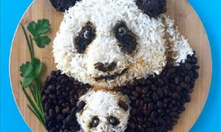 15 Stunning Works of Art Made Only From Food Items