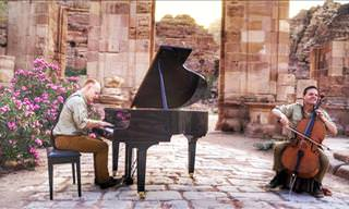 The Piano Guys Play Petra