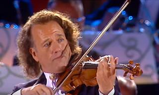 Watch Andre Rieu Masterfully Perform 'The Last Rose'