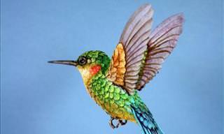 Zack Mclaughlin's Stunning Paper Birds