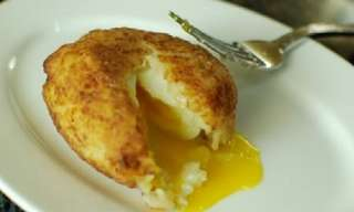 Hash Brown Wrapped Eggs? Yummy...