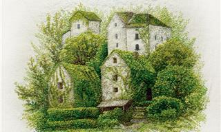 These Hand-Stitched Landscapes Are True Masterpieces!