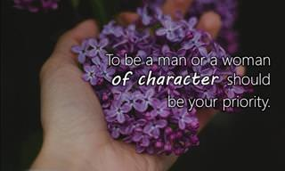 A Few Thoughts About Human Character
