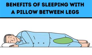 How a Pillow Between Your Legs Can Promote Healthier Sleep
