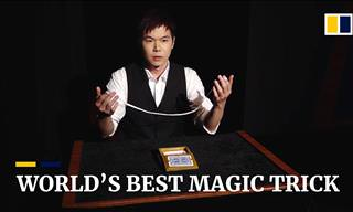 Brilliant Young Magician Performs the Greatest Magic Trick