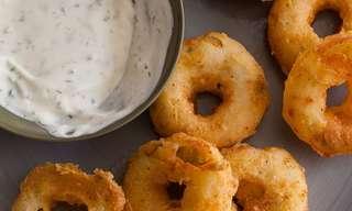 Recipe: Better Than Onion Rings - Potato Rings!