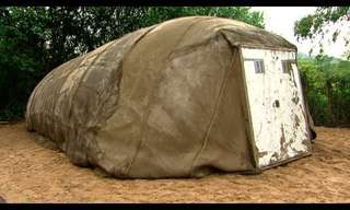 The Concrete Tent - Amazing Invention!