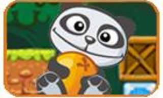 Game: Help This Adorable Panda Get His Oranges