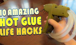 10 Super Useful Hot Glue Life Hacks!