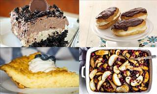 A Delight for Your Tastebuds: 14 Scrumptious Dessert Ideas