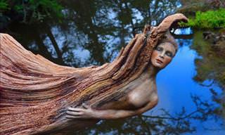 Mesmerizing Driftwood Art