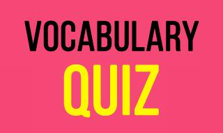 Word Retention and Vocabulary Quiz