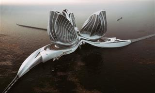 This Self-Sustainable Megastructure Will Clean the Ocean