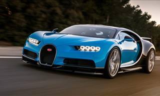 Stunning Bugatti Chiron Breaks Cover At Geneva Motor Show