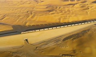 The Railway Line That Will Be in the Middle of the Desert