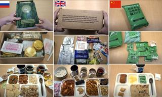 What Military Rations Look Like in 12 Countries Worldwide
