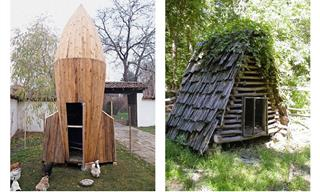 The Most Outrageous Chicken Coops You'll Ever See
