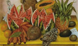 Many Stunning Artworks Made by Mexican Artist Frida Kahlo