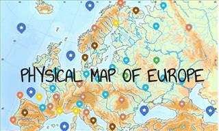 Interactive Map: A Guide to Physical Europe