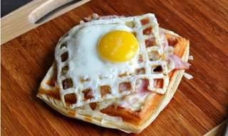 Cook Dishes Using a Waffle Iron