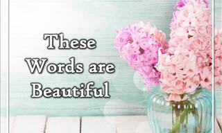 Inspiring! These Words are Beautiful